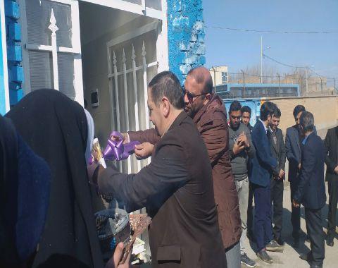 افتتاحیه آزمایشگاه دبستان-بهمن ماه