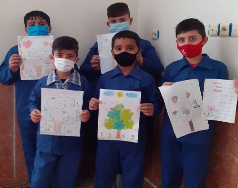 آشنایی و شناخت دانش آموزان با حواس پنجگانه